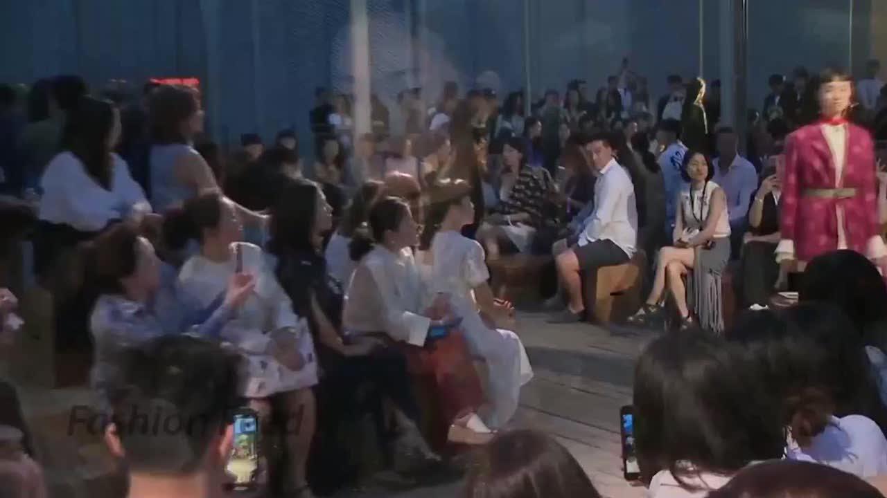 克洛伊2020年春夏上海时装周 时尚模特优雅动人 第三部分