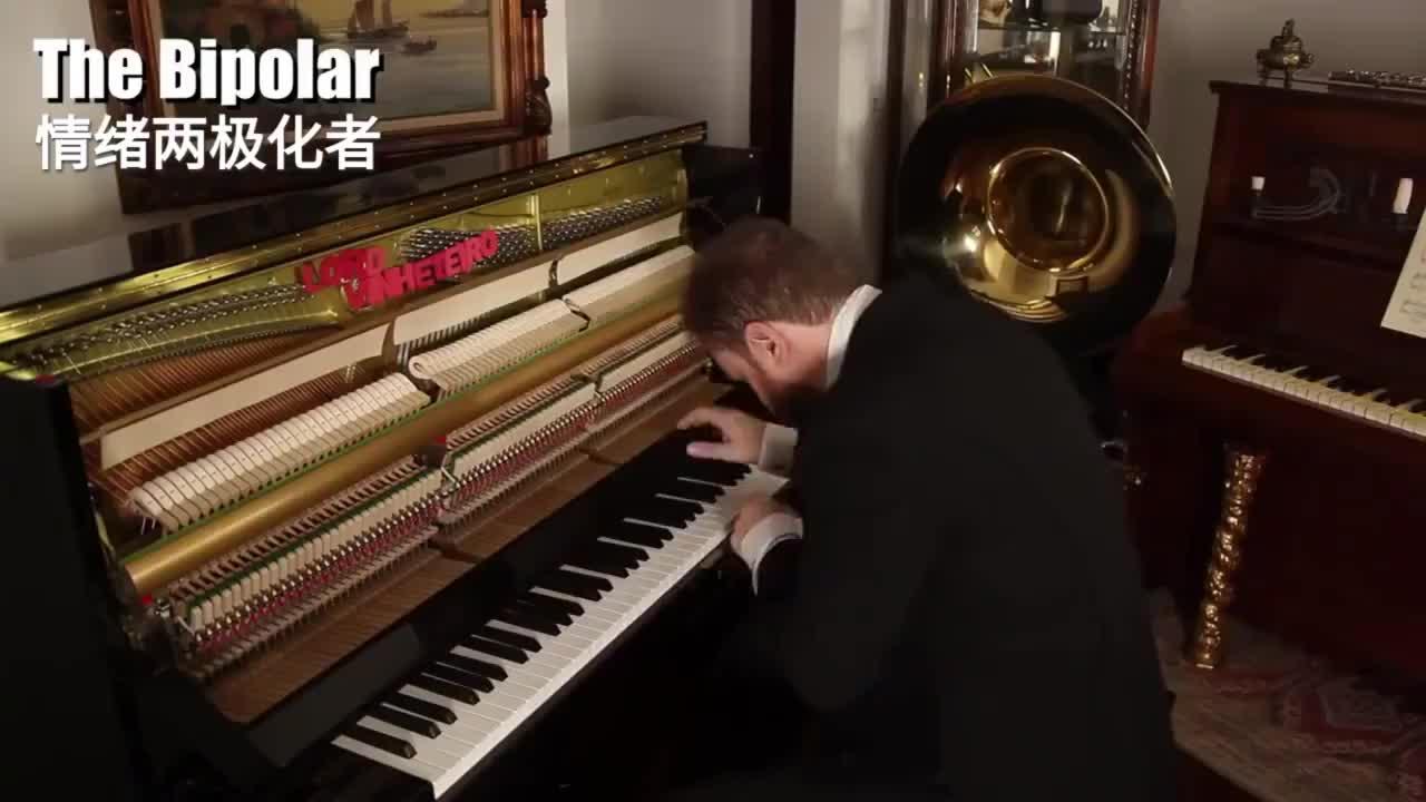 趣味盘点13种不同类型的钢琴家