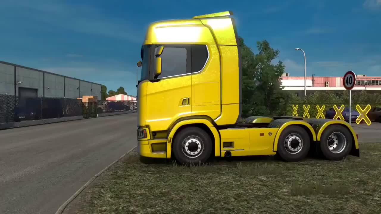 欧卡2斯堪尼亚455马力牵引车运输32吨手机原材料