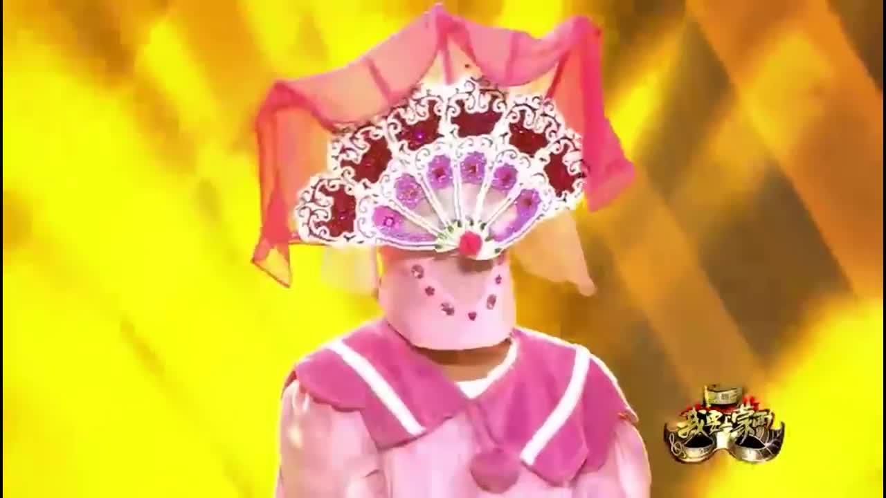 我要上蒙面:一枝花打败星爵,原来他是汪苏泷,怪不得这么好听!