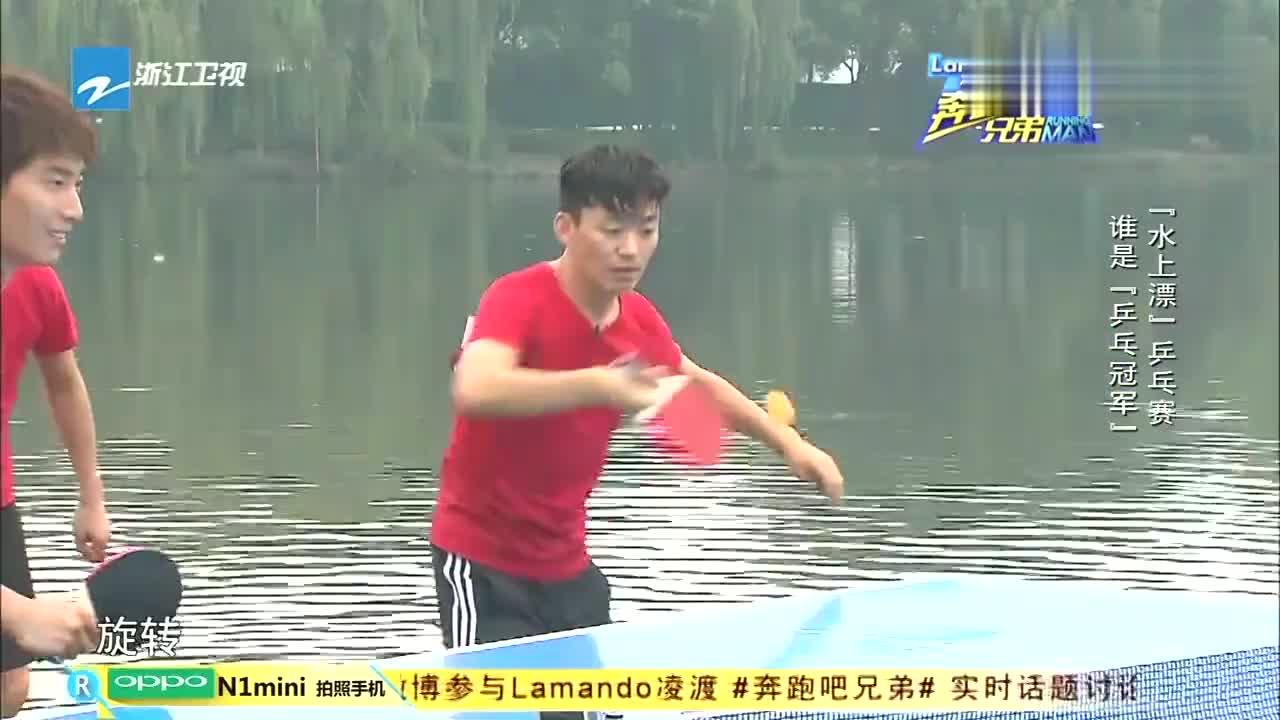 李晨马苏西湖上玩泰坦尼克,却是为了打乒乓球,究竟为何?