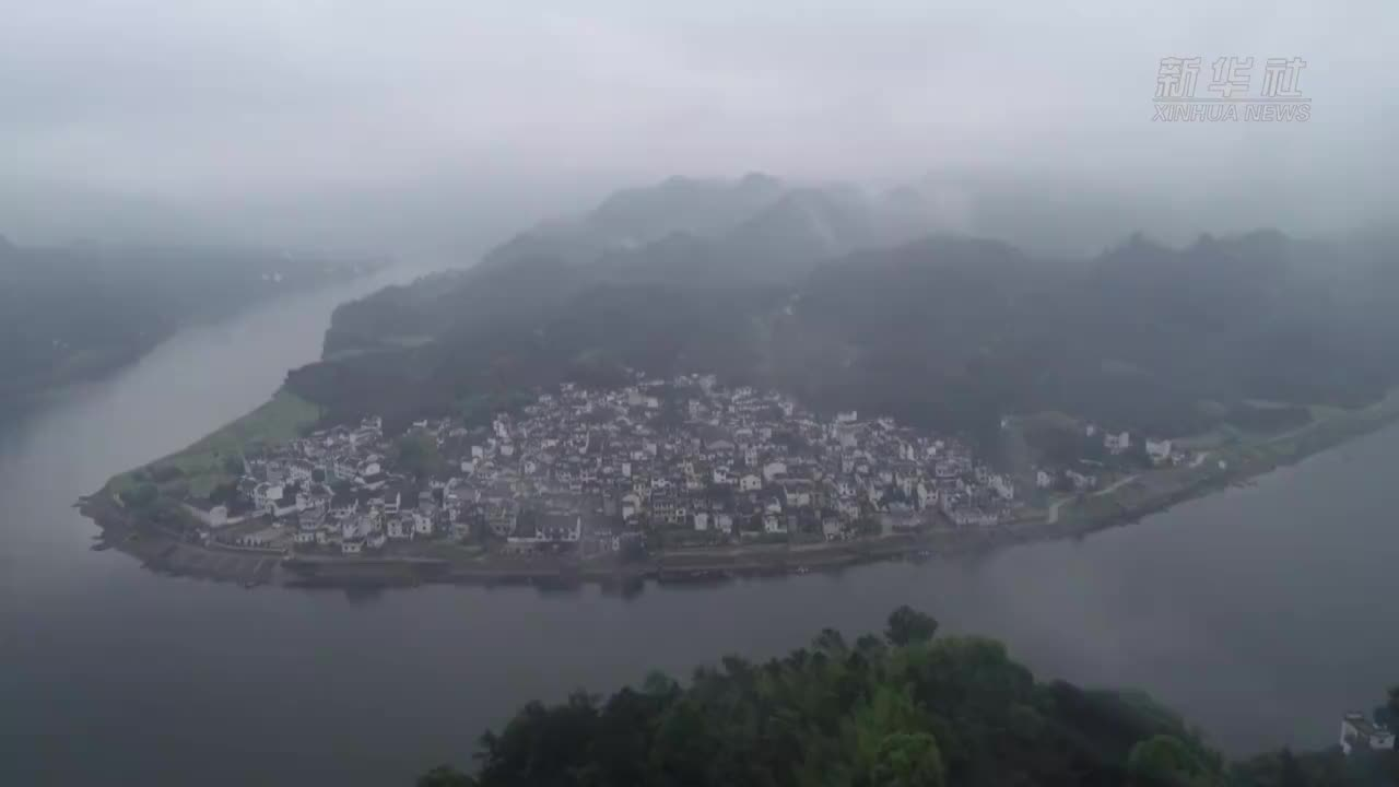 五洲风物新安江百里山水画廊