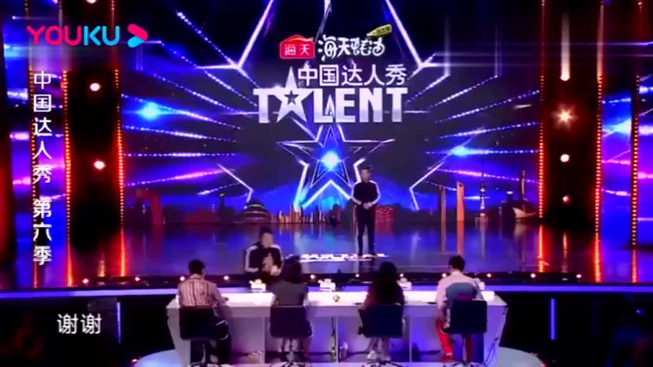 中国达人秀:农村小伙创业表演,征服全场,杨幂看的合不拢嘴