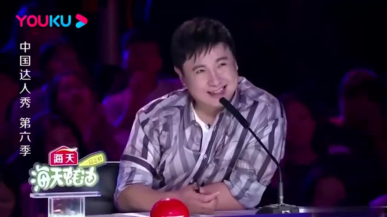 中国达人秀:小伙一人表演群口相声,岳云鹏也掺一脚,没忍住