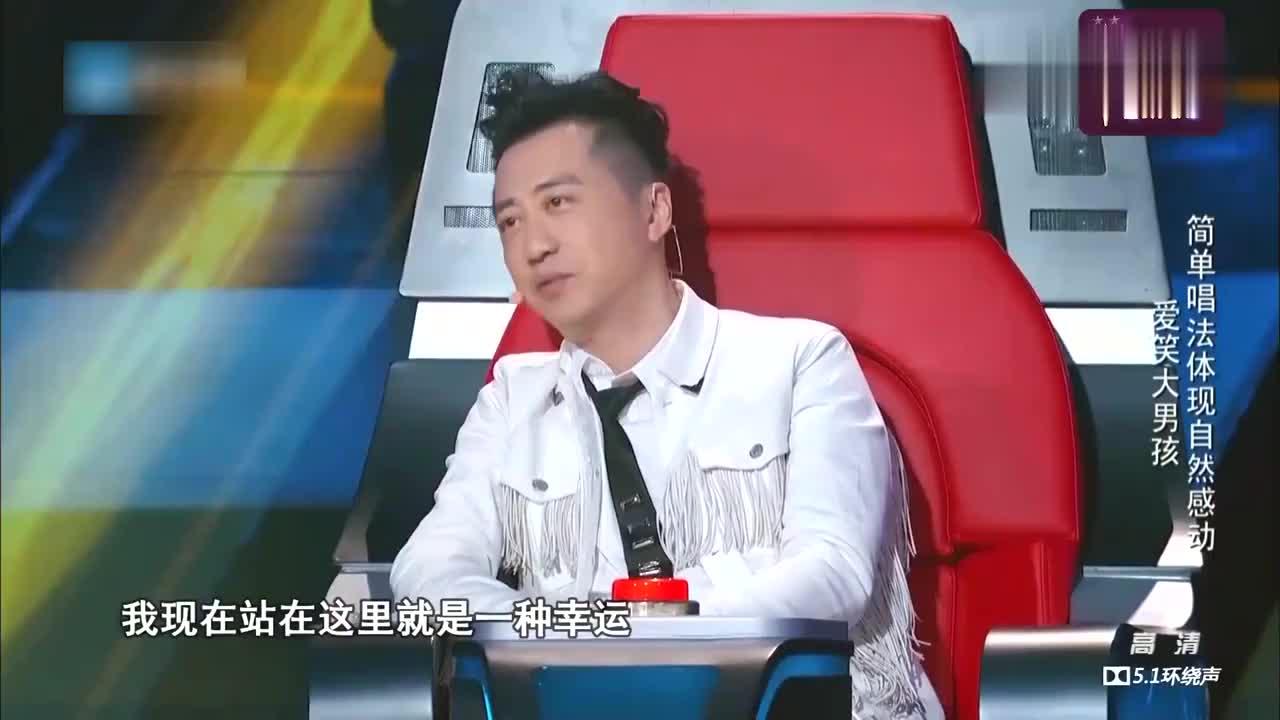 中国新歌声,那英和哈林惊呆了,上个厕所就得了这样的机遇