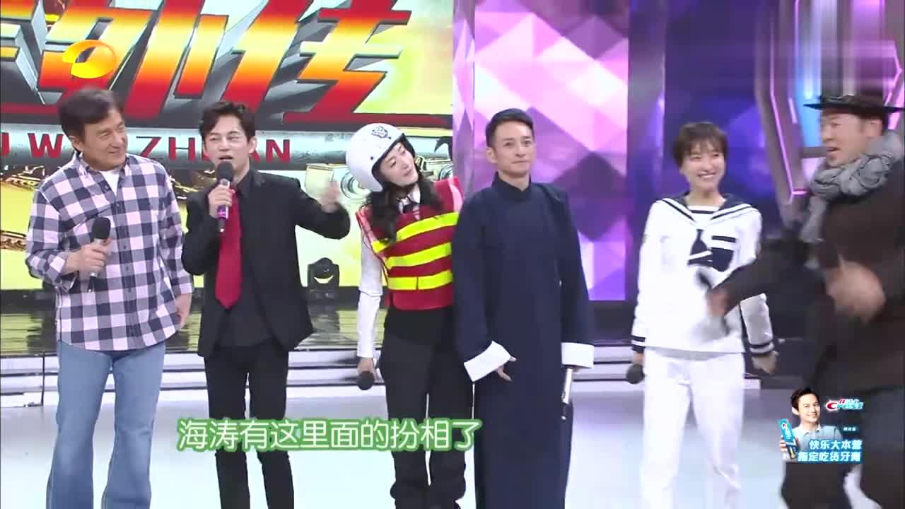 何炅:《铁道飞虎》剧组最喜欢谁,黄子韬讲场面话,被谢娜吐槽!