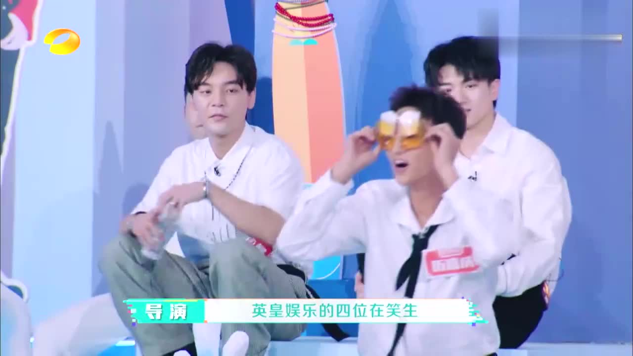 播王祖蓝爆笑视频,海西传媒全程冰山脸,吴昕:不愧是高冷模特团
