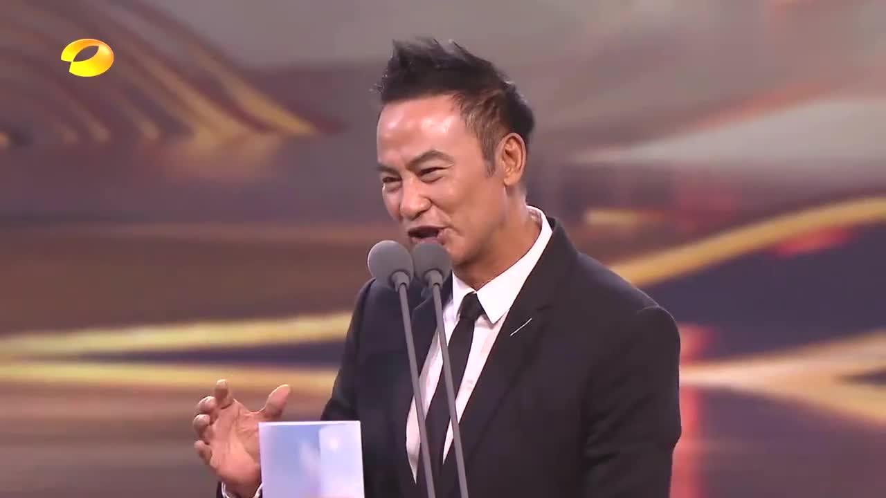 倪萍公布观众最喜爱男演员奖,一看名字摇头,任达华何炅差点慌了