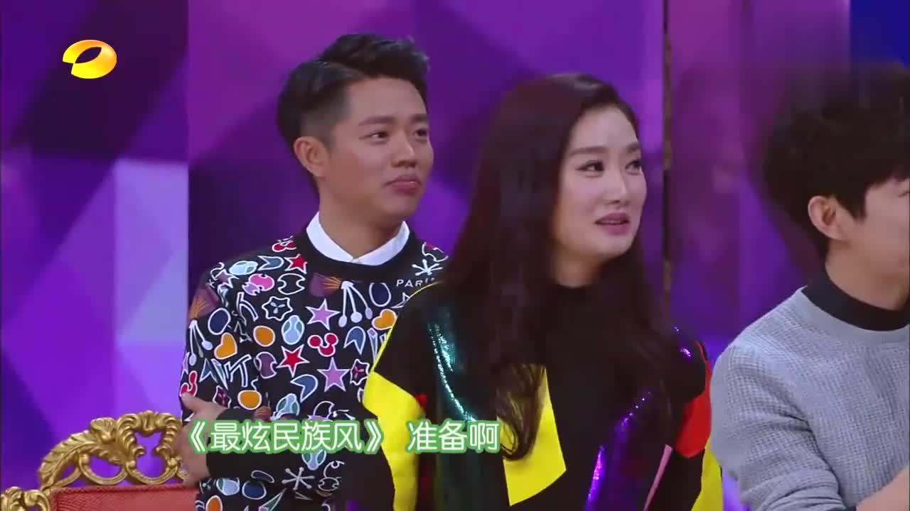 谢娜羽泉合唱《最炫民族风》,嗨到跳广场舞,不愧是KTV最火歌曲
