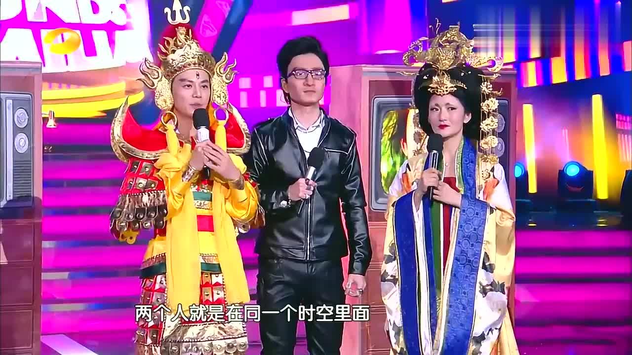 王栎鑫戴400度眼镜模仿汪峰,被吐槽像阿尔法,谢娜:白模仿了!