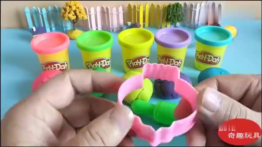 创意diy彩泥培乐多制作福字大灯笼动手动脑的趣味益智玩具