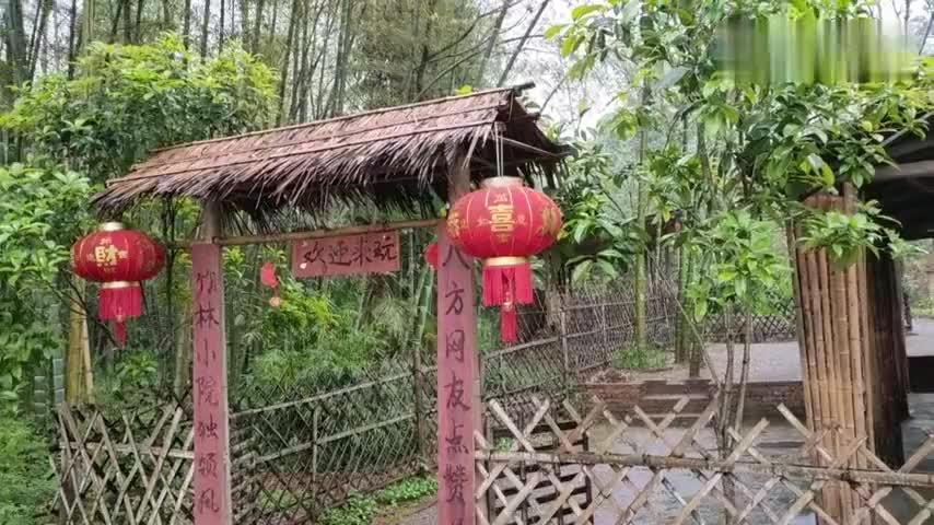 山锅兄弟用油纸做吊顶低成本装修竹林小院网友吐槽有点丑