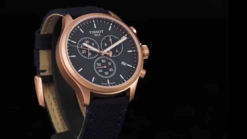 每日玩表  Tissot天梭速驰古潮系列腕表