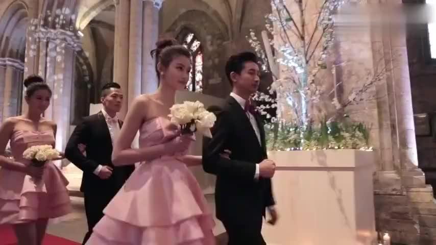令人羡慕的明星婚礼:周杰伦的最气派,林志玲全程依偎在老公怀里