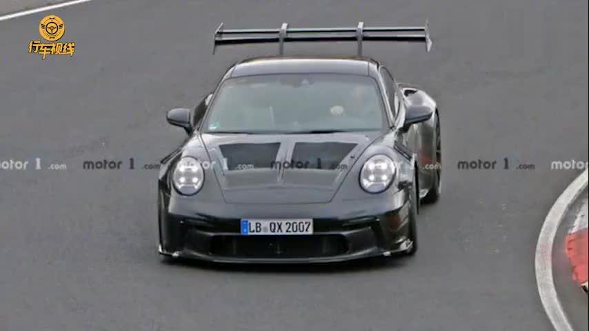 全新保时捷911 GT3 RS路试谍照曝光 或将于2021年亮相