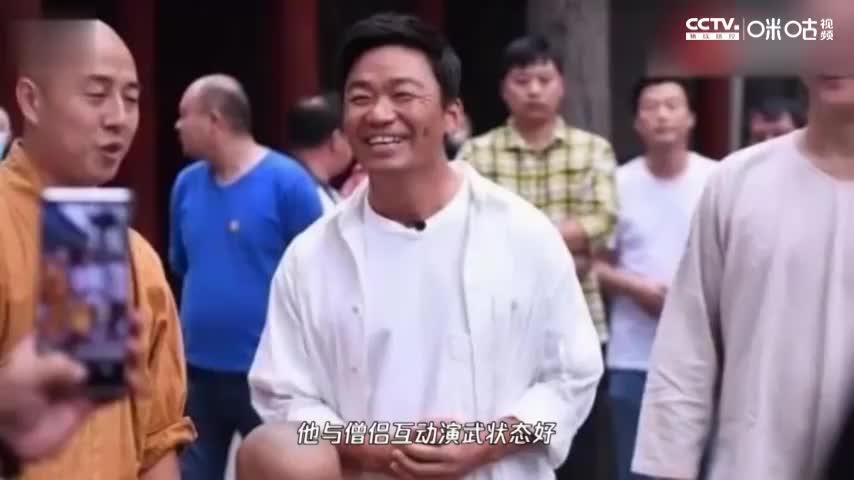 王宝强罕见现身少林寺再秀功夫,现场扎马步打拳基本功过硬