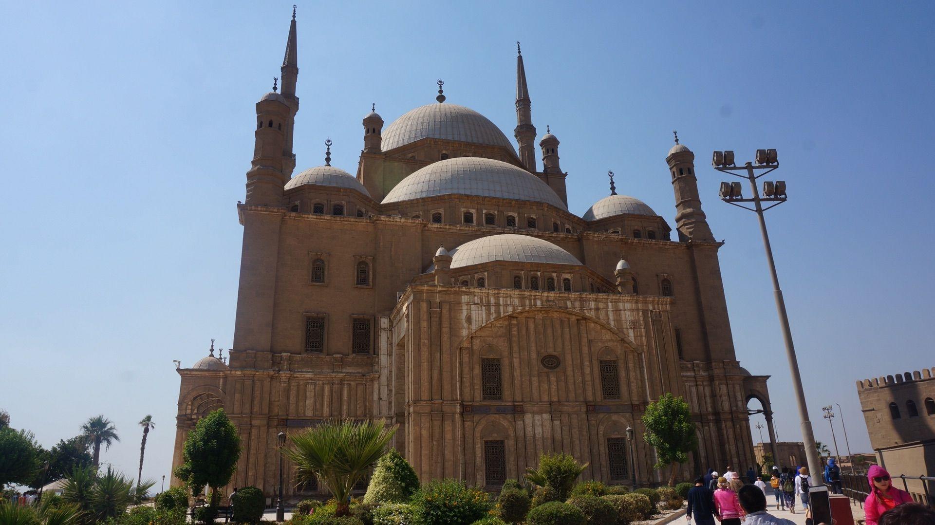 非洲 埃及 开罗 穆罕默德·阿里清真寺 埃及最大的伊斯兰教清真寺