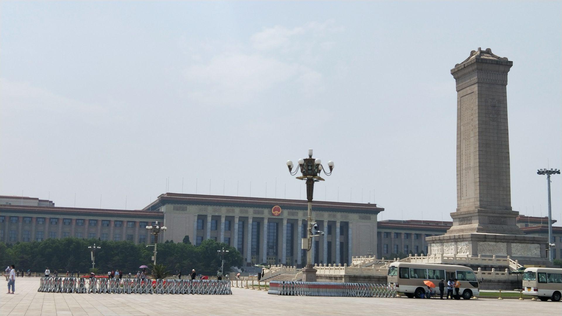 游览 北京市 东城区 人民英雄纪念碑