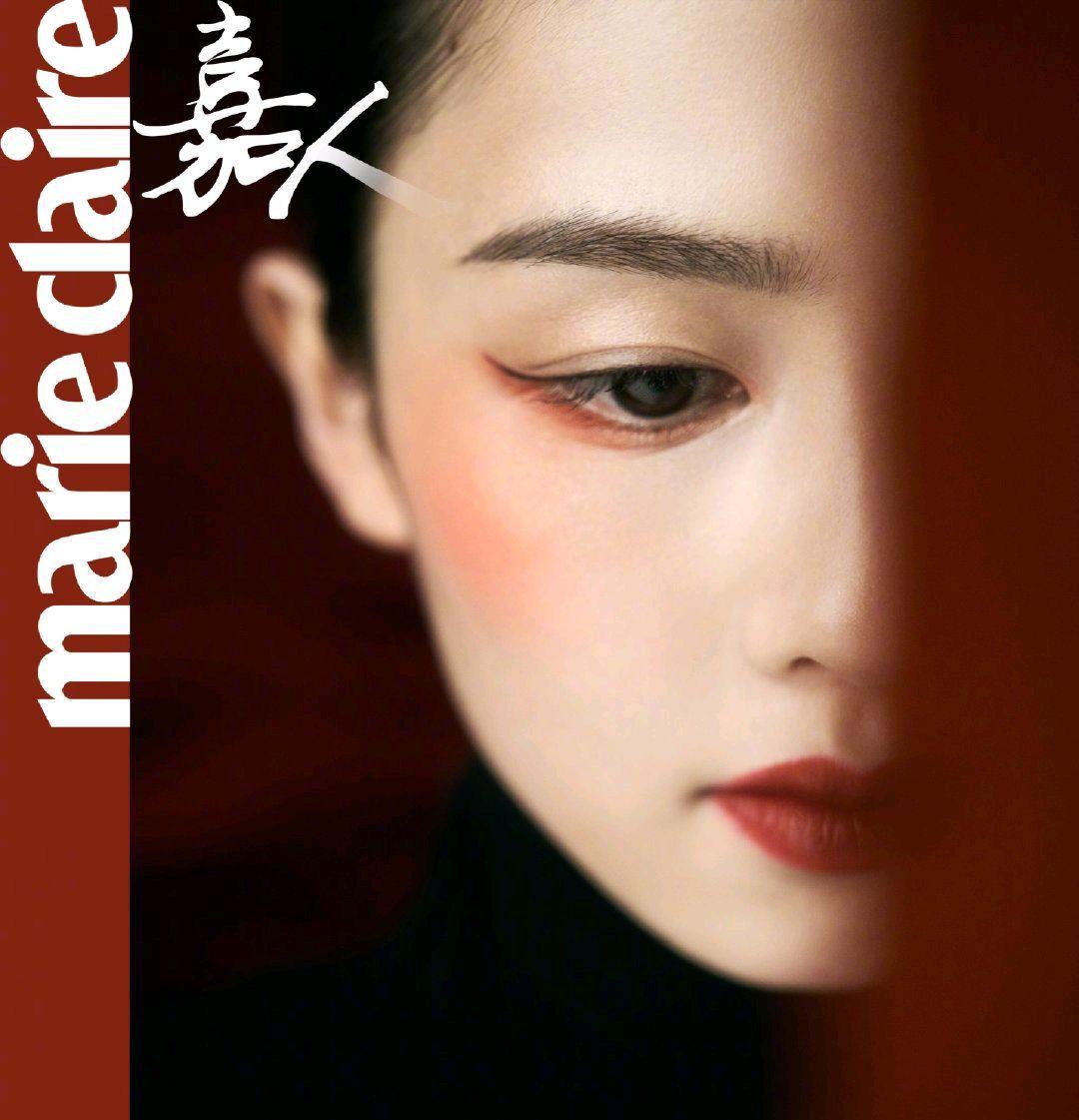 海内外美妆博主争相模仿的中国妆容,白皙底妆浓郁红唇是重点