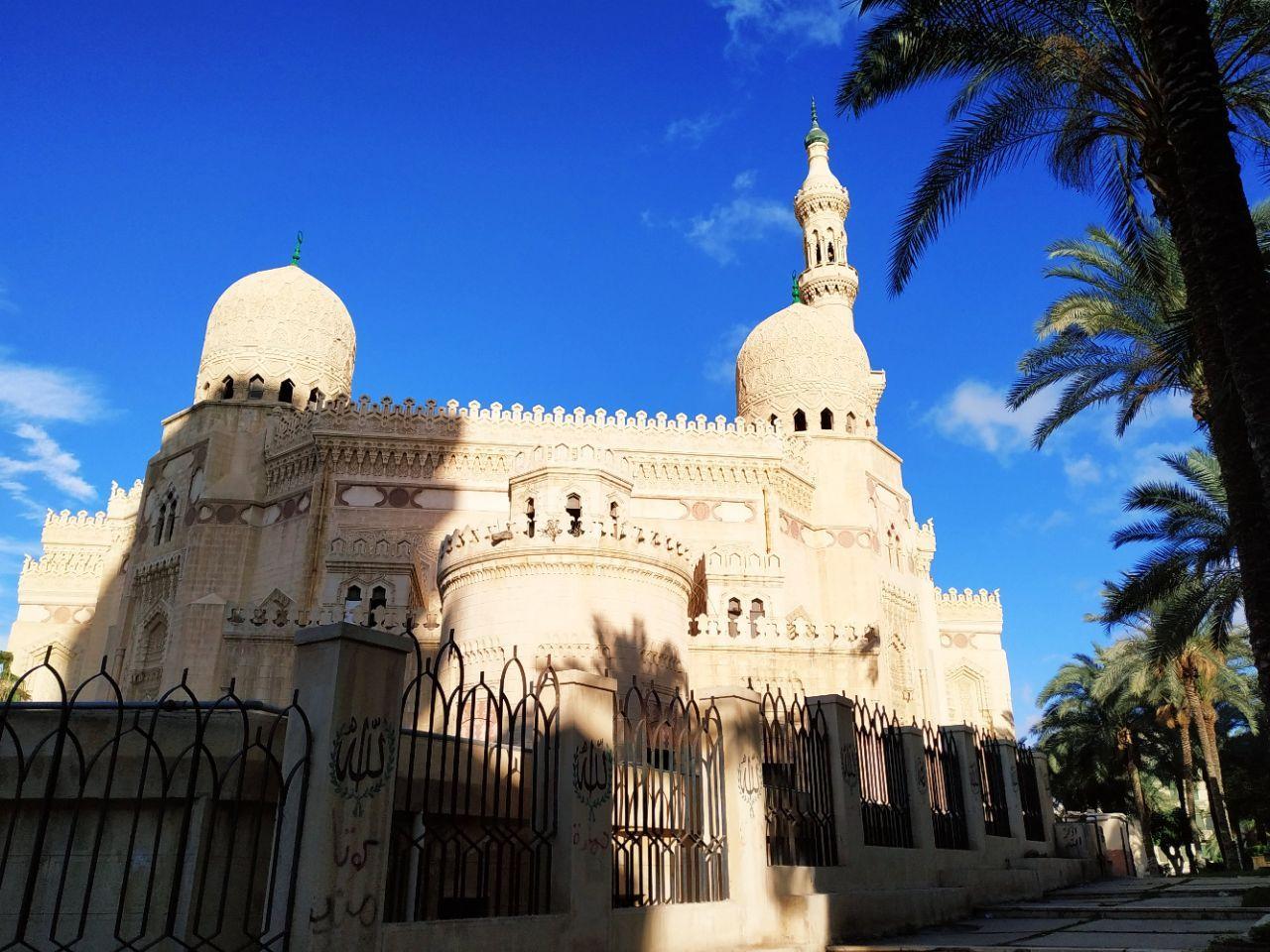 游览 非洲 埃及 亚历山大 摩西·阿布·阿巴斯清真寺
