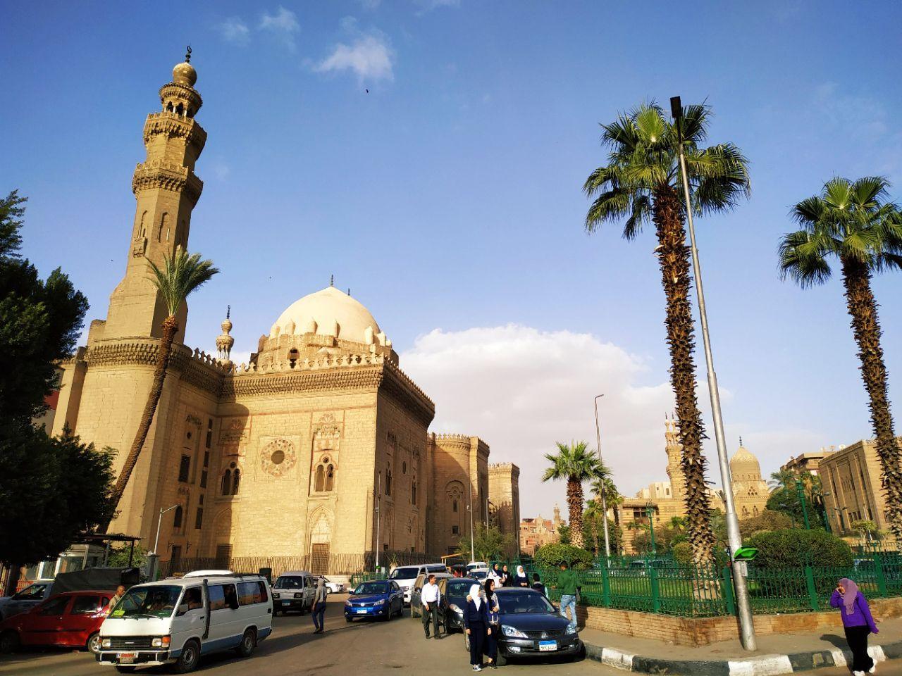 非洲 埃及 开罗 苏丹·哈桑清真寺