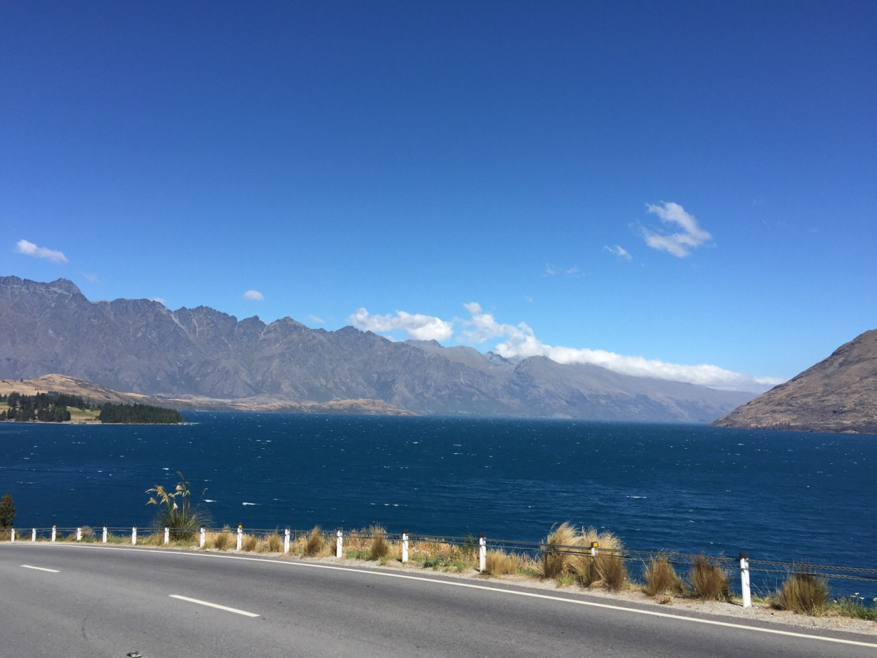 新西兰 皇后镇 格伦诺基-昆士城路