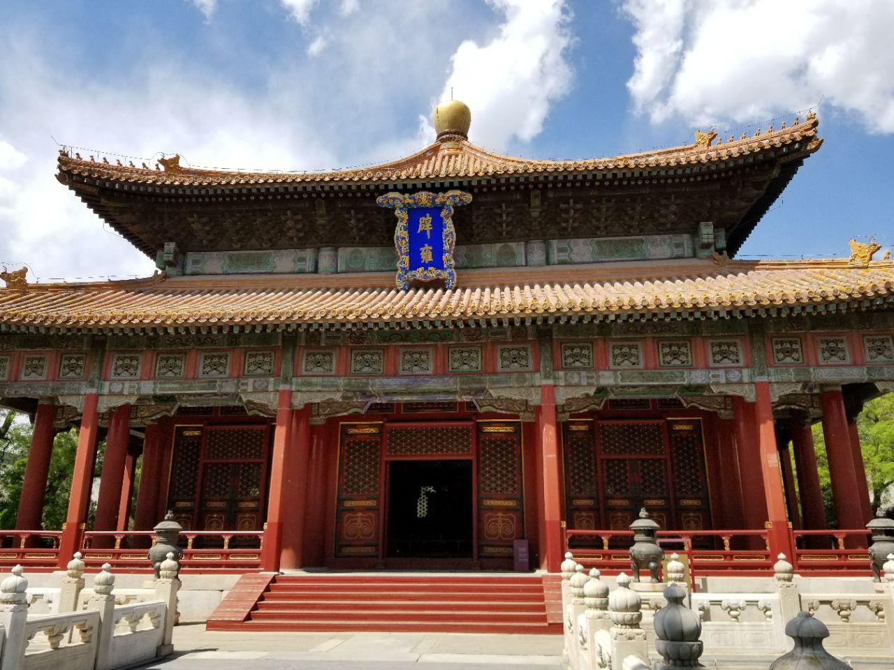 游览 北京市 东城区 国子监 我国元、明、清三代设立的最高学府