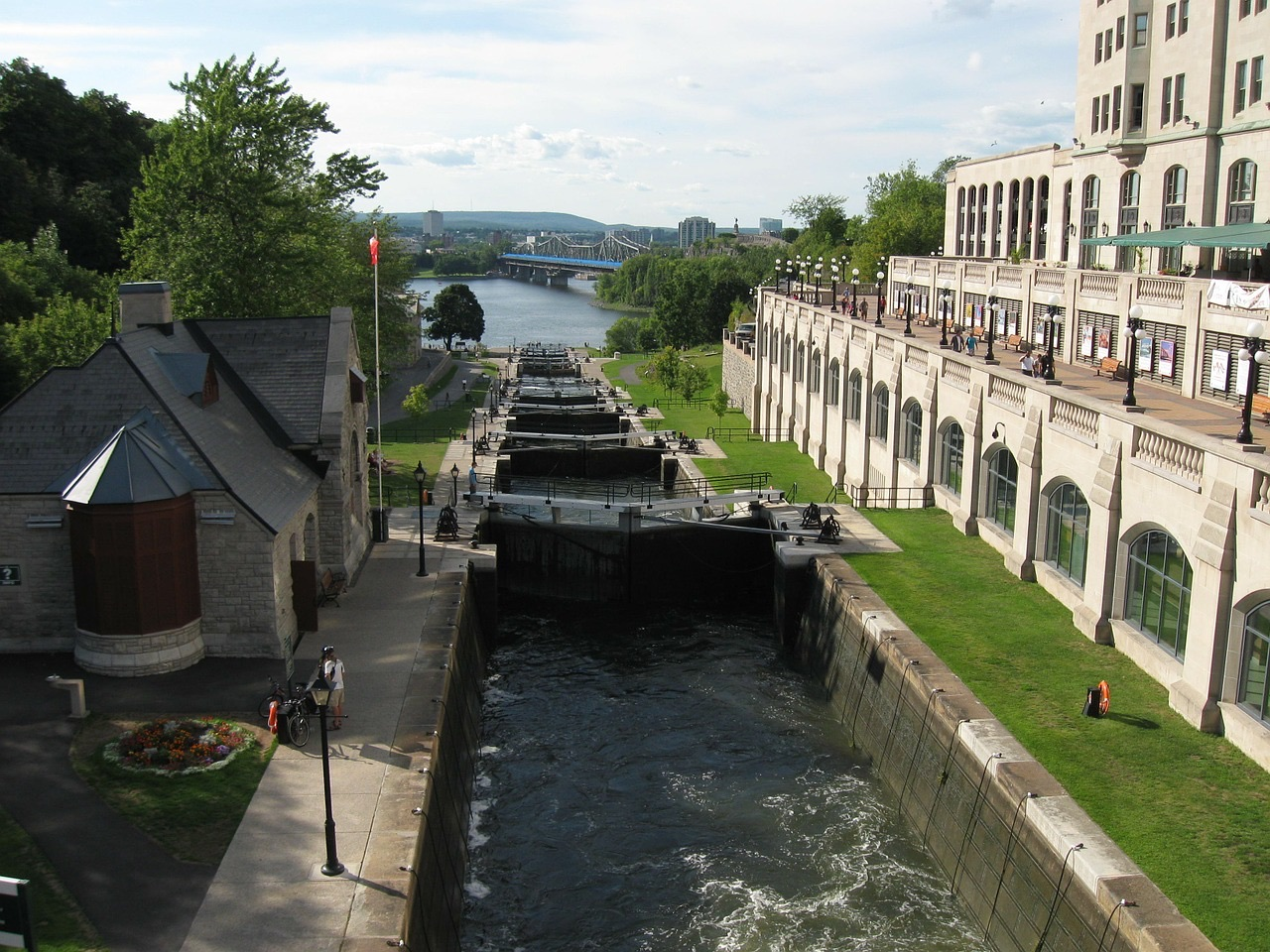 加拿大 渥太华 里多运河