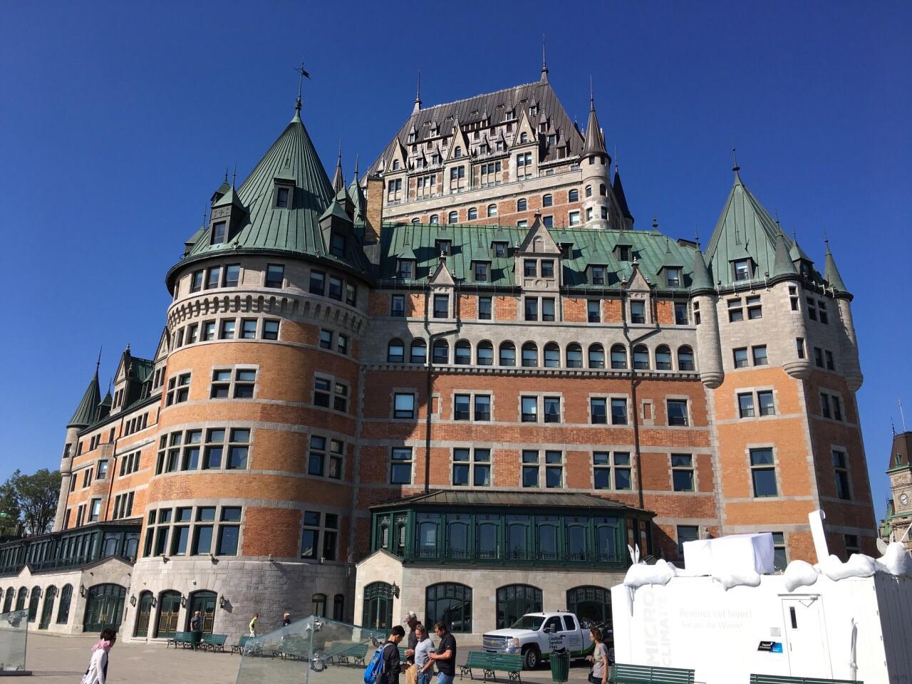 加拿大 魁北克 费尔蒙芳缇娜城堡酒店