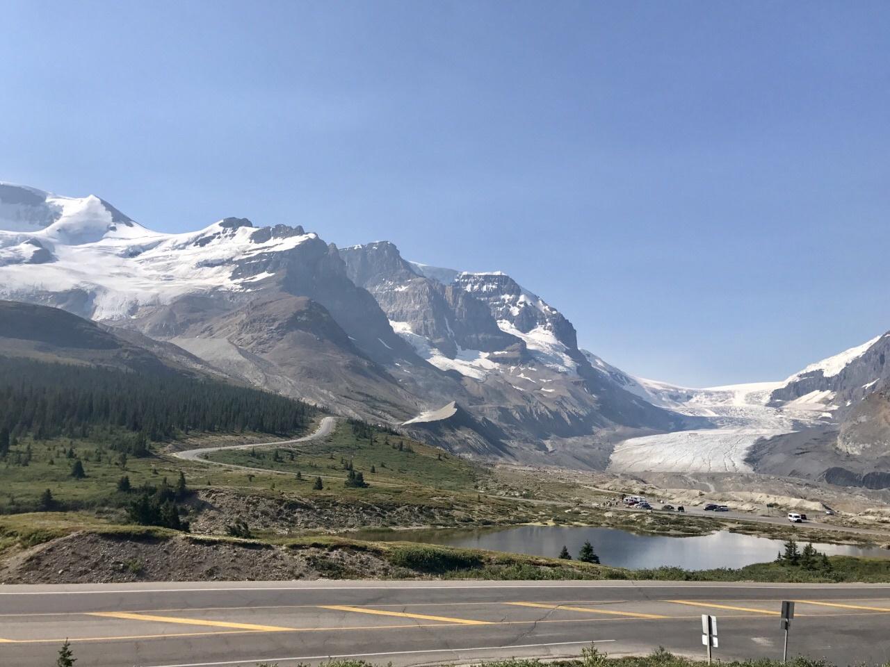 加拿大 贾斯珀国家公园 哥伦比亚冰原