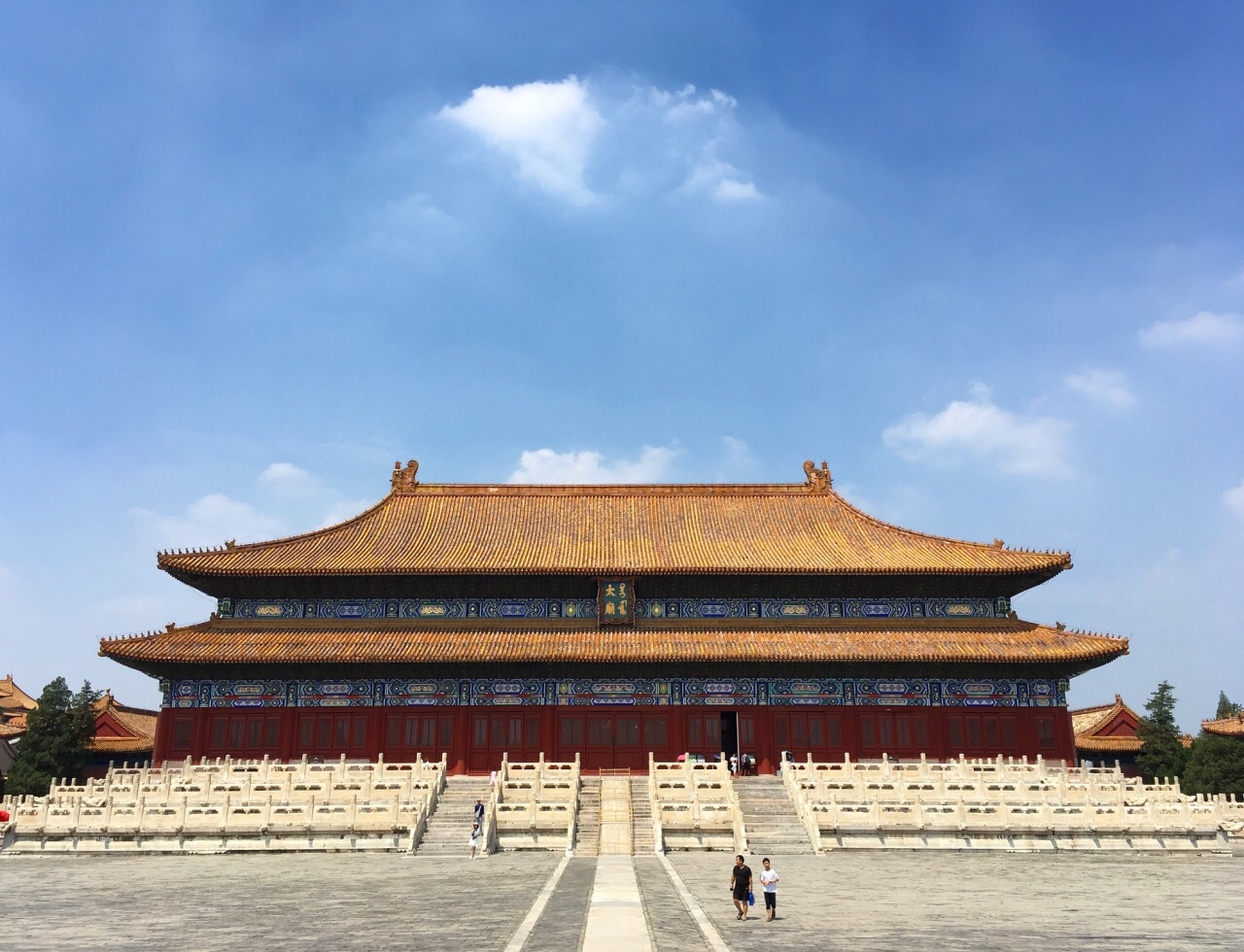 游览 北京市 东城区 劳动人民文化宫 原来的太庙