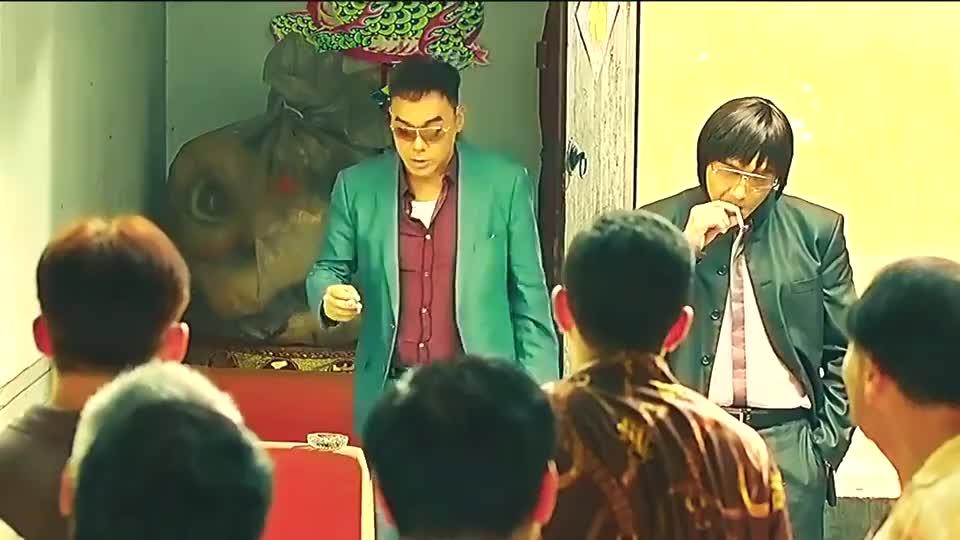 刘青云:刚才我听说谁要翻脸?