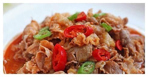 肥牛金针菇,熘肥肠,煎烧蛋豆腐,浇汁豆腐的做法