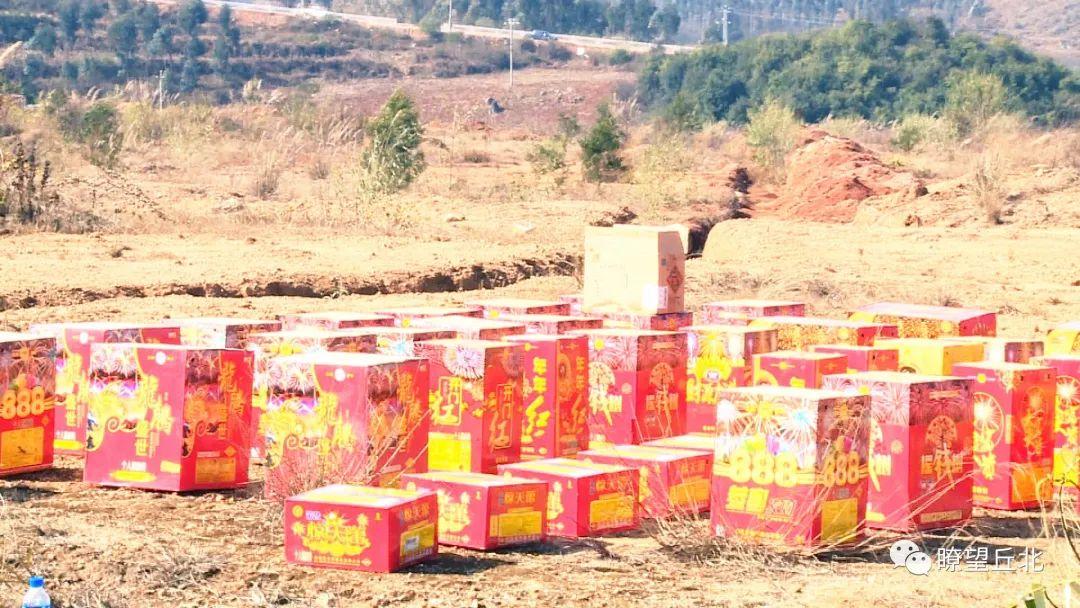 文山州5000多件非法烟花爆竹被销毁