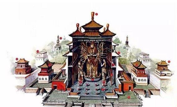 穿墙透壁,剖视中国经典古建筑