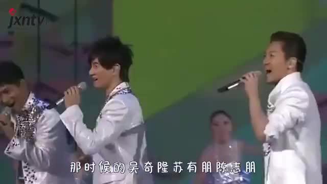 只比吴奇隆大2岁的丈母娘长啥样?看到照片,网友:张得开嘴吗?
