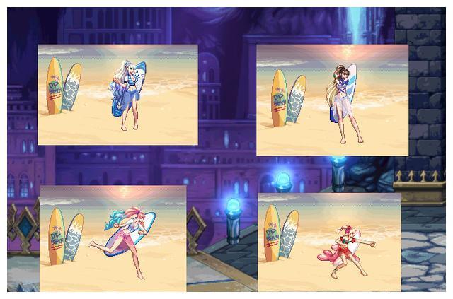 DNF:夏日时装外观出炉!还未上线已增加布料,女角色搭配小裙子