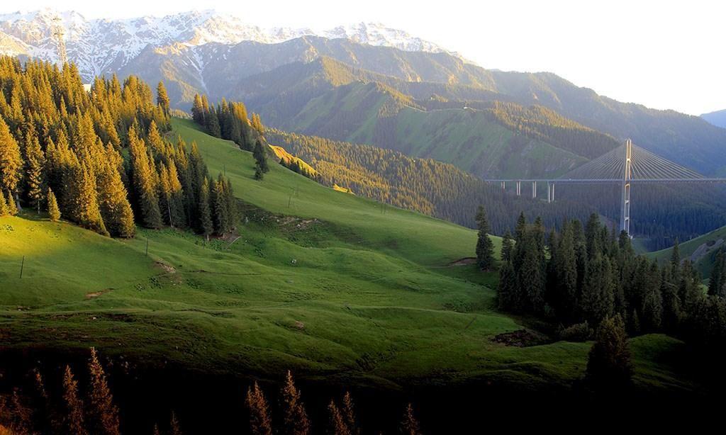 风光摄影:新疆果子沟美景