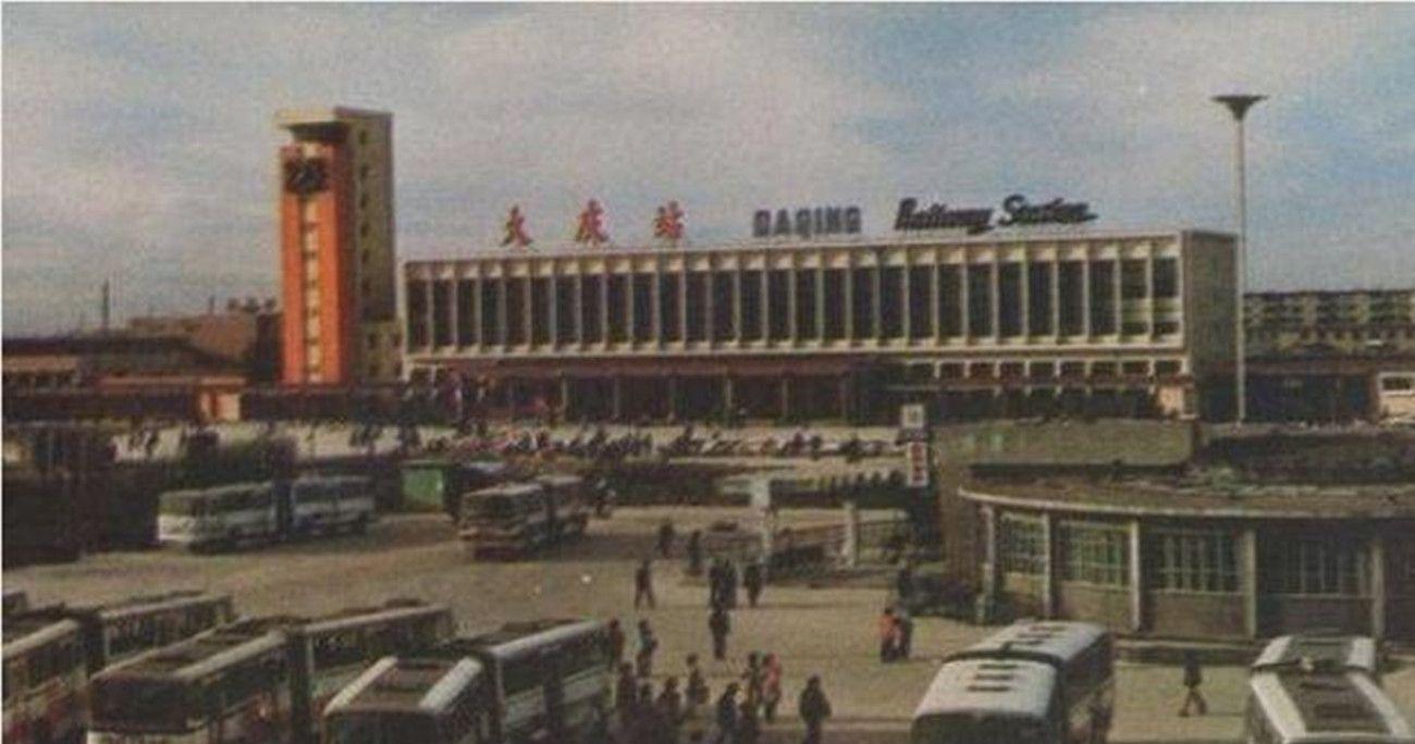 """老照片:1982年的大庆,美丽的""""油城"""""""