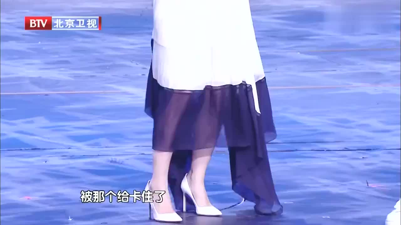 跨界歌王谢娜黄子佼回忆舞台事故神反应太搞笑