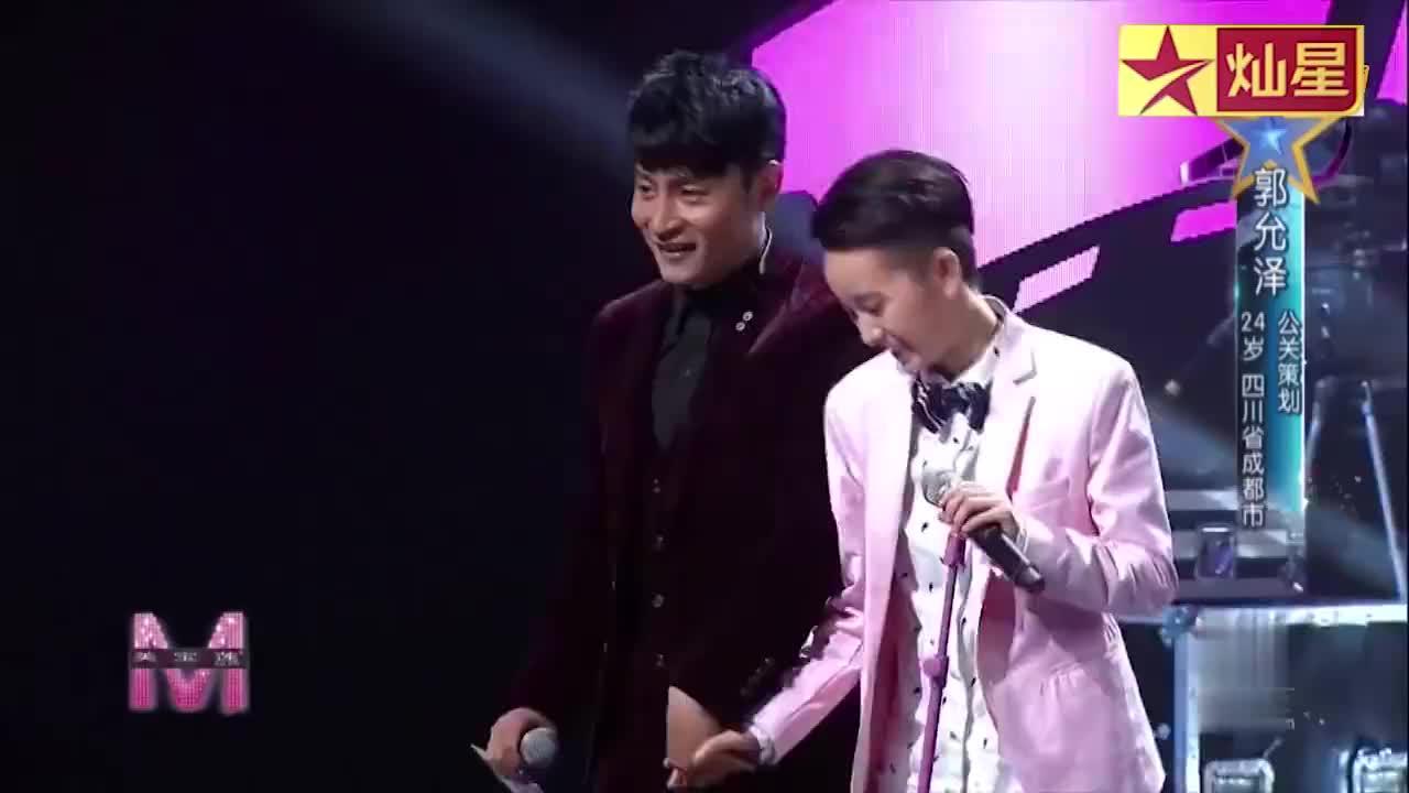 零舞台基础的公关策划,因为喜爱来到舞台,与陈志朋比帅气
