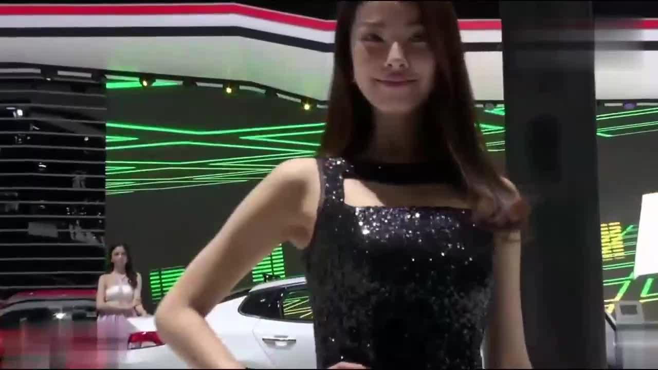 广州车展漂亮模特展示混剪四