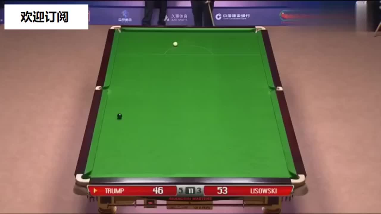 上海大师赛:特鲁姆普击败利索夫斯基,强势进入决赛!