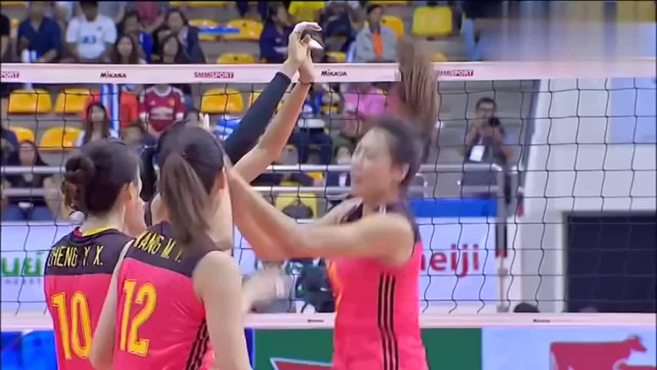 中国骄傲!女排亚洲杯实现三连冠 这是中国最好的大球运动