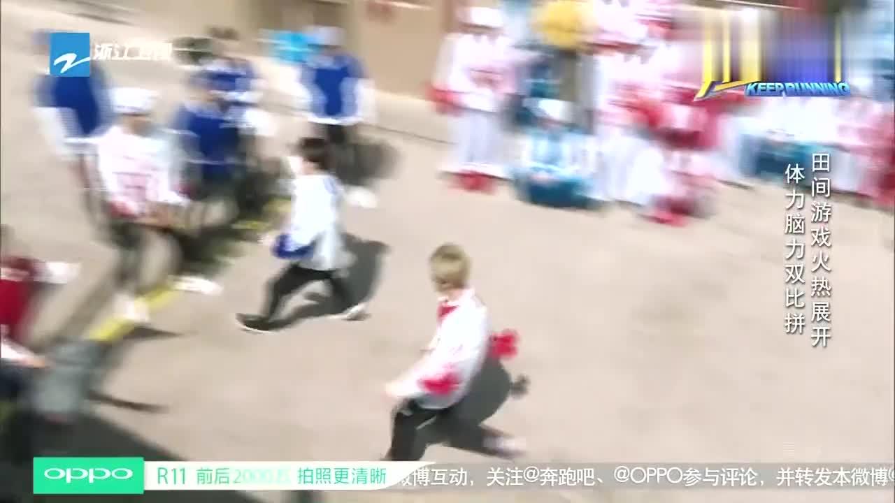 """奔跑吧:王祖蓝化身""""游戏黑洞"""",急坏迪丽热巴,画面太搞笑"""