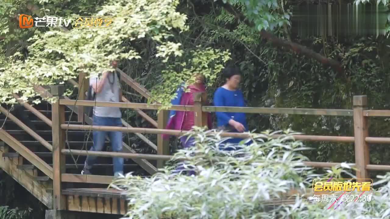 张伦硕在背后吐槽妈妈的体重,钟丽缇笑得停不下来,果真是一家人