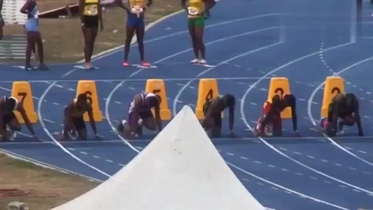 牙买加U18百米大战 人才济济 博尔特不缺继承人