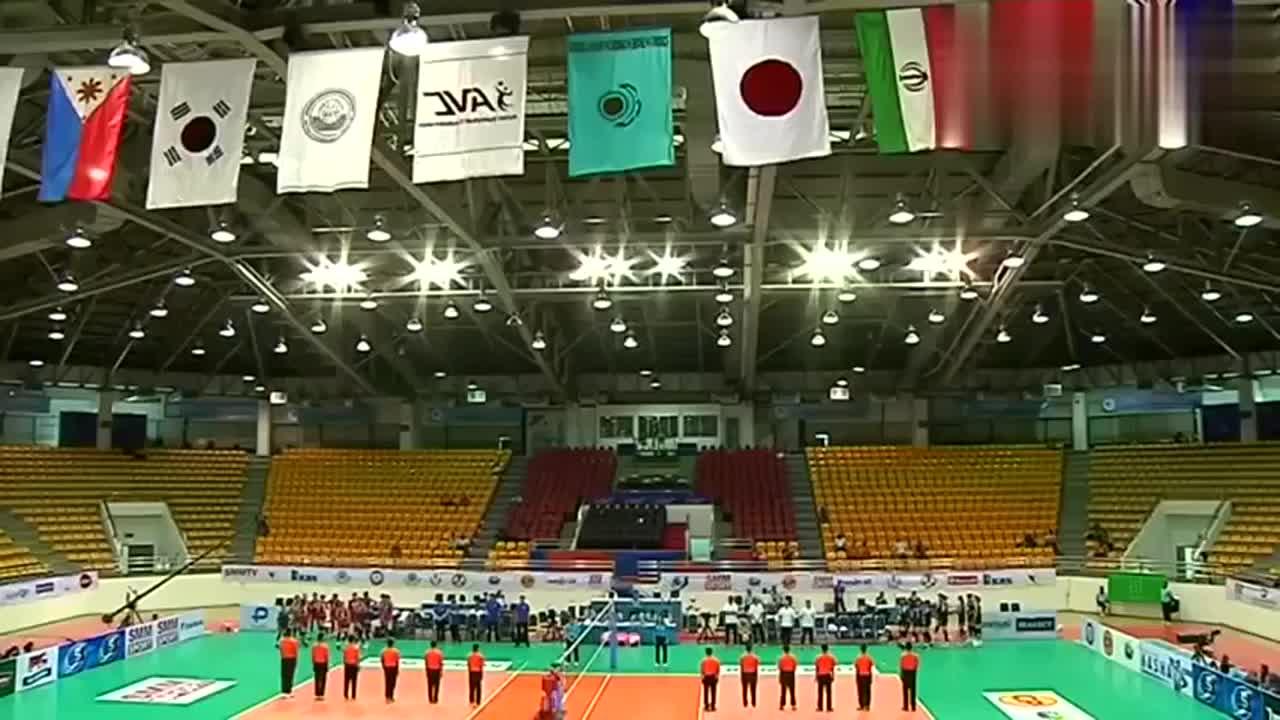 爆冷 女排亚洲杯中国台北女排3-1淘汰韩国挺进四强