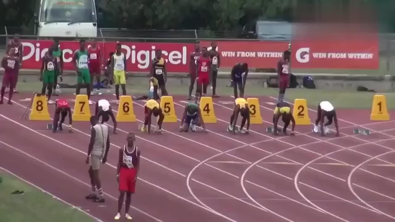 牙买加国内短跑比赛 正在寻找博尔特的接班人