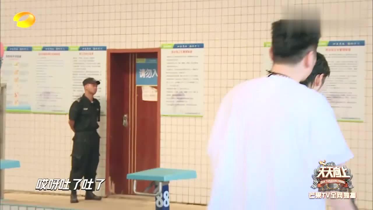 天天:王一博生病还坚持参赛,孙杨秀游泳技术,结果却出人意料